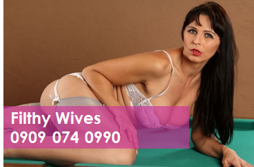 Filthy Wives 09090740990 Mobile Phone Sexy Talk Line